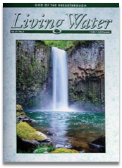 Living Water Journal Back Issues of Volume 21
