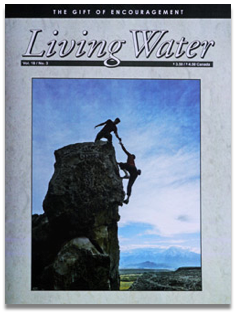 Living Water Journal Back Issues of Volume 18