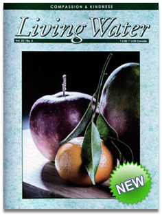 Living Water Journal ... One Year Subscription - Non-USA $18